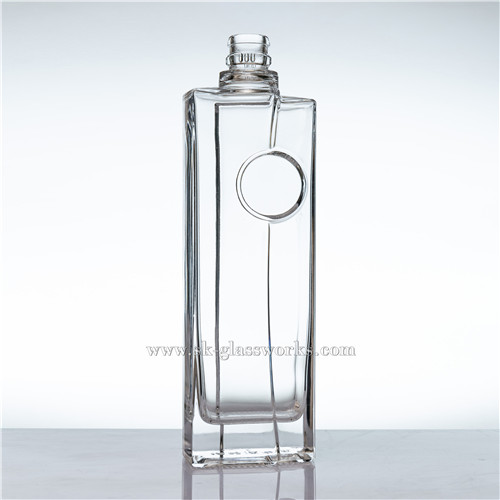 Spirits 500ml Glass Bottle
